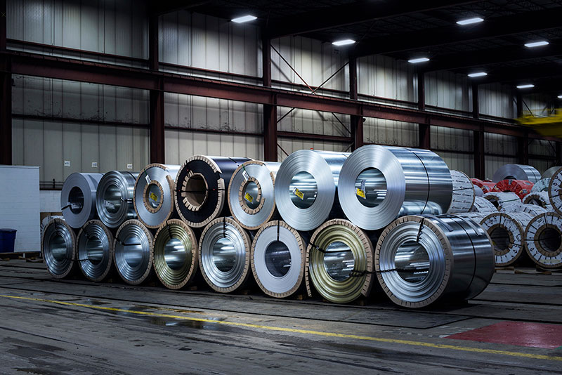 Industrial Photography-Steel Company