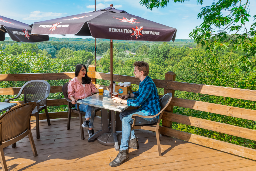 Starved Rock Lodge Veranda - Editorial Photographer