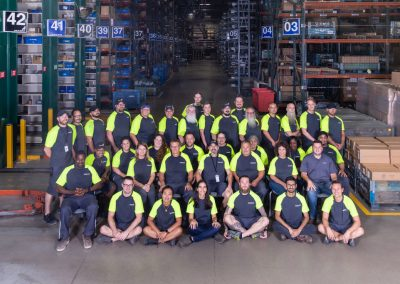 Volvo Mack Truck Group Photo