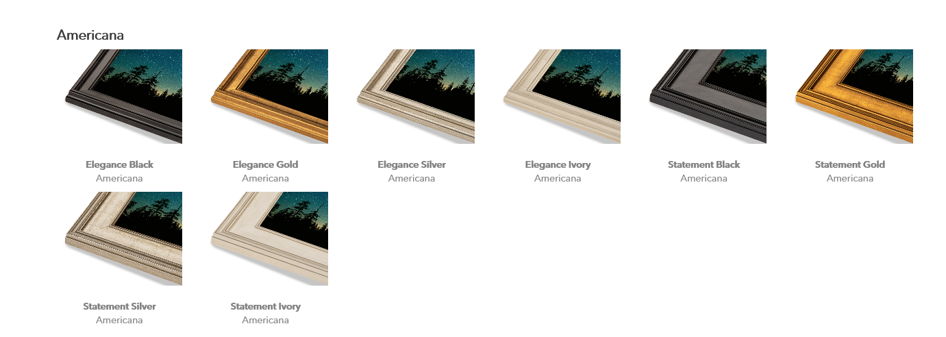 americana-series-frames